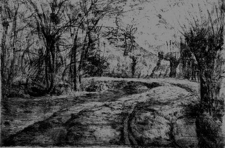 Pointe-Sèche Barbisan - Strada di campagna