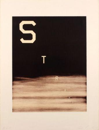 Lithographie Ruscha - Stranger