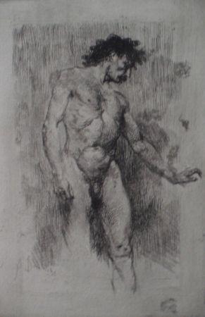 Eau-Forte Bianchi - Studio di nudo maschile