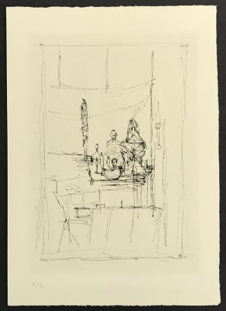 Gravure Giacometti - Studio from La Magie Quotidienne
