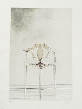 Eau-Forte Wunderlich - Stuhl-Metamorphose