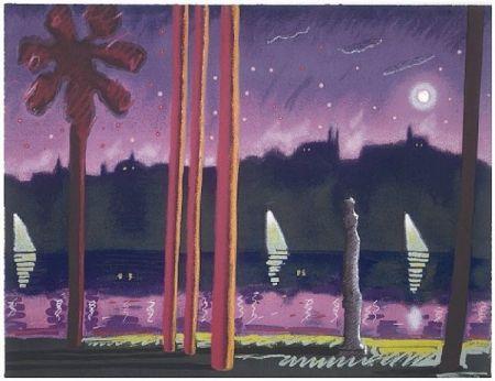 Sérigraphie Almaraz - Suave Como La Noche