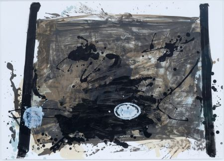Lithographie Tapies - Suite 63 X 90 (No 2)