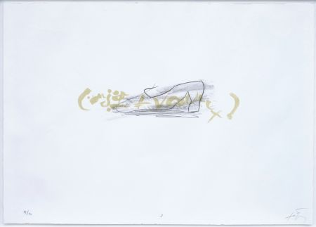 Lithographie Tapies - Suite 63 X 90 (No 3)