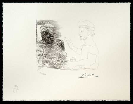 Lithographie Picasso (After) - Suite Vollard