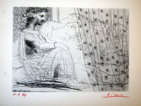 Lithographie Picasso - Suite Vollard