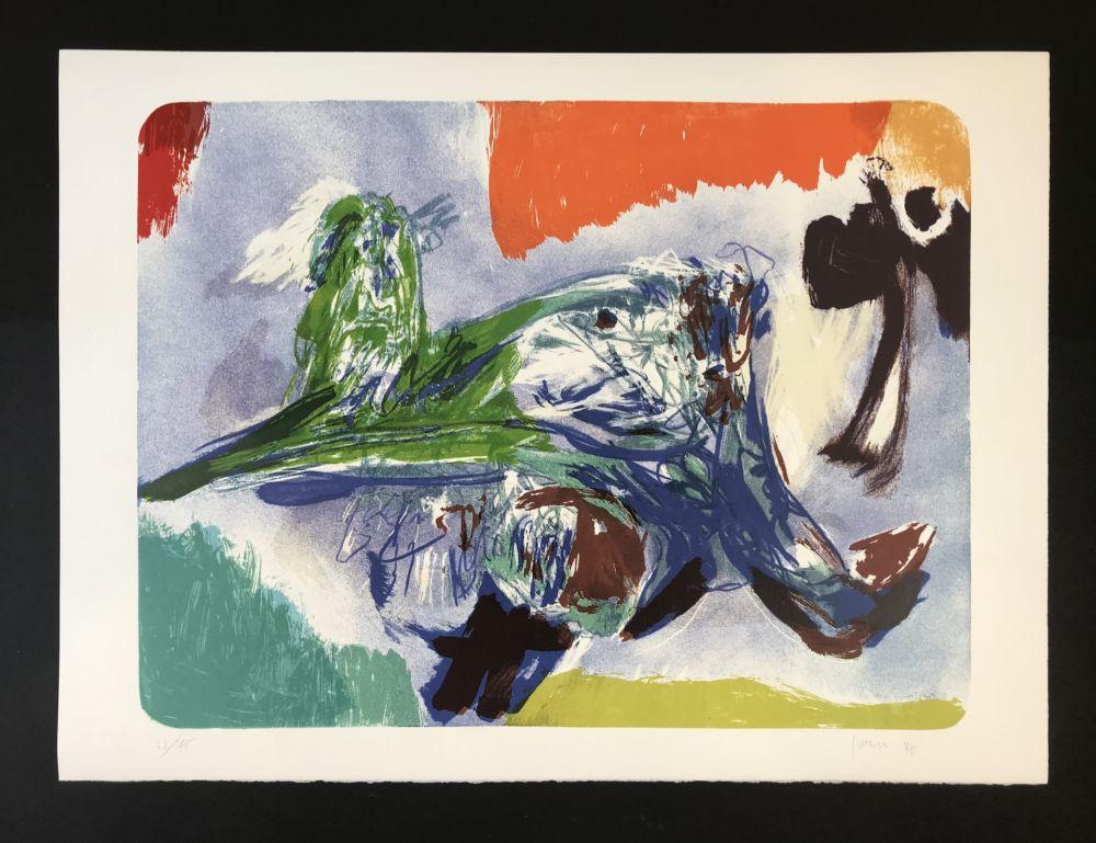 Lithographie Jorn - SULLA STRADA II