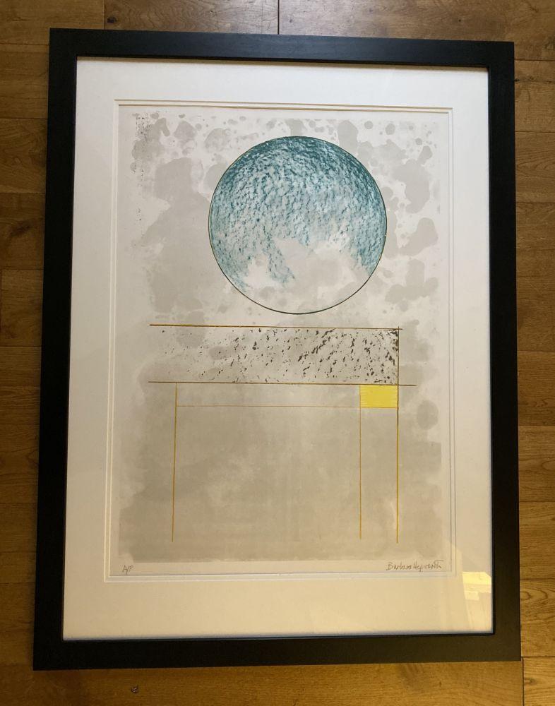 Sérigraphie Hepworth - Sun Setting