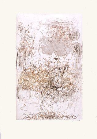 Eau-Forte Et Aquatinte Mitchell - Sunflowers 6