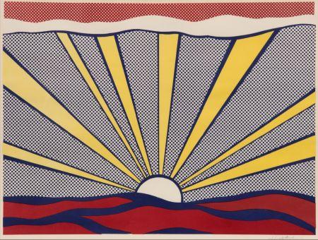 Lithographie Lichtenstein - Sunrise