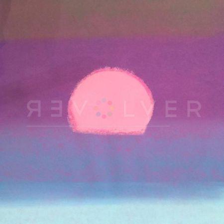 Sérigraphie Warhol - Sunset (Unique) (Purple/ Blue)