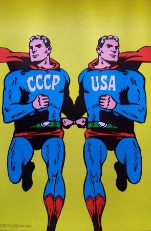 Sérigraphie Cieslewicz  - Superman