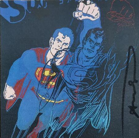 Sérigraphie Warhol - Superman