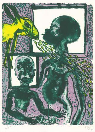 Lithographie Toguo - Supernatural