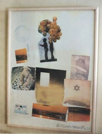 Lithographie Rauschenberg - Support