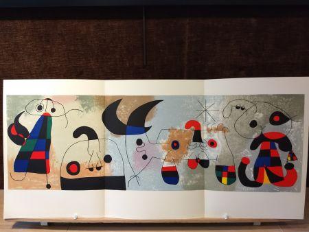 Livre Illustré Miró - Sur quatre murs