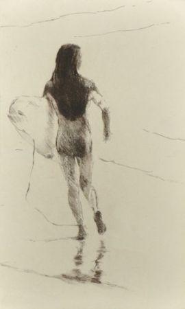 Gravure Paul P - Surfista corrent