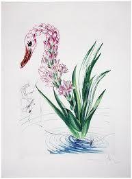 Pointe-Sèche Dali - Surrealistic Flowers, 542, Polyanthes tyberosa et cygnus vegetalis