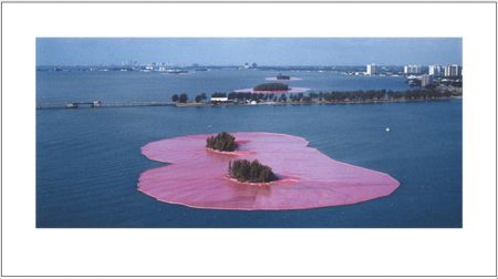 Photographie Christo - Surrounded Islands Miami