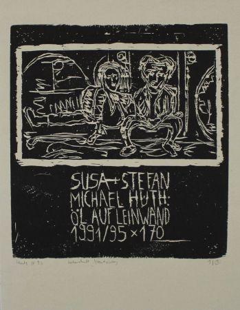 Gravure Sur Bois Huth - Susa + Stefan