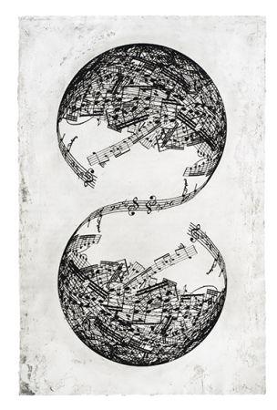 Gravure Plensa - Symétrie