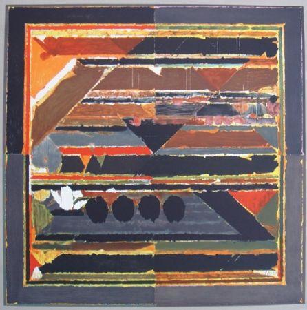 Lithographie Raza - Symboles 3
