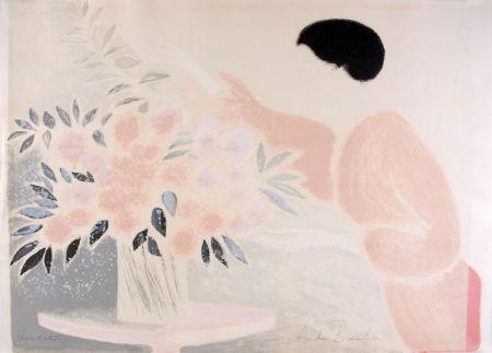 Lithographie Brasilier - Symphonie en Rose
