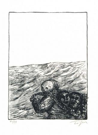 Livre Illustré Topor - SYNGE (J.M.). Cavaliers à la mer.
