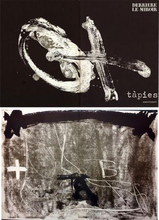 Livre Illustré Tàpies - TÀPIES. Monotypes . Derrière le Miroir n° 210. Juin 1974