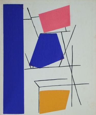 Pochoir Mortensen - Témoignages pour l'art abstrait