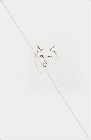 Gravure Fini - Tête De Chat.