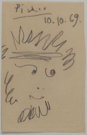 Aucune Technique Picasso - Tête de Faune (Faun's Head)