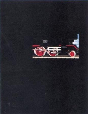 Lithographie Brossa - Túnel