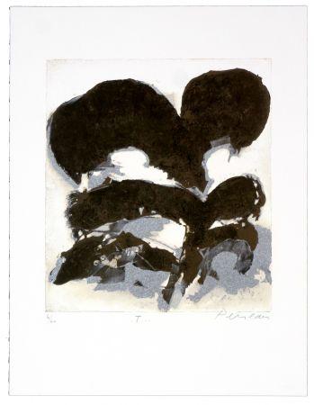 Lithographie Péneau - T