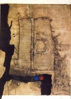 Eau-Forte Clavé - Table et toile de sac
