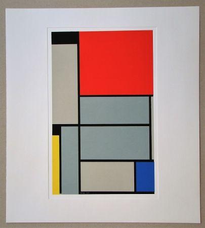 Sérigraphie Mondrian - Tableau I. - 1921