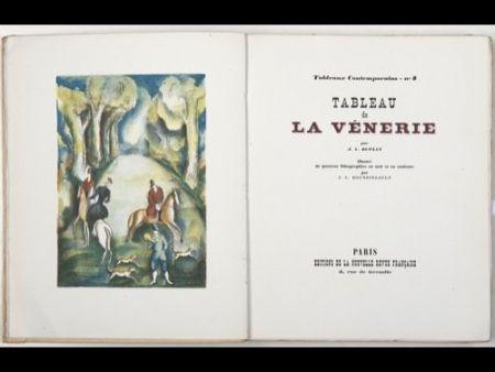 Livre Illustré Boussingault - Tableaux contemporains: Tableau des Courses, de la Boxe, de la Vénérie, de l'Amour Vénal, des Grands Magasins, de la Mode, de l'Au-Delà, du Palais, de la Bourgeoisie.