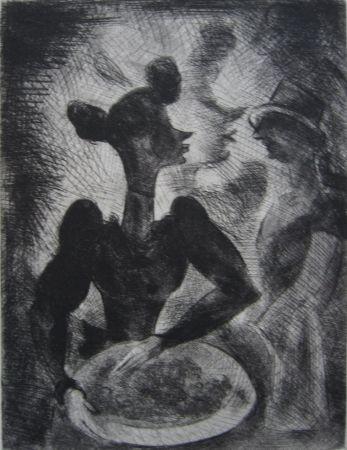 Livre Illustré Goerg - Tableaux contemporains: Tableau des Courses, de la Boxe, de la Vénérie, de l'Amour Vénal, des Grands Magasins, de la Mode, de l'Au-Delà, du Palais, de la Bourgeoisie.
