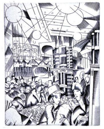 Livre Illustré Laboureur - Tableaux contemporains:  Tableau des Courses, de la Boxe, de la Venerie, de l'Amour Venal, des Grands Magasins, de la Mode, de l'Au-Delà, du Palais, de la Bourgeoisie