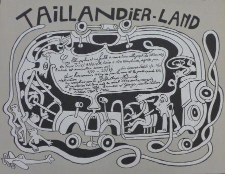Lithographie Taillandier - Taillendier Land
