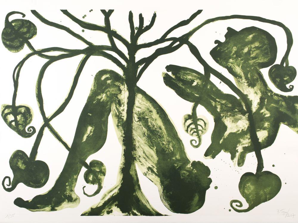 Lithographie Toguo - Take a Green Breath