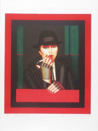 Lithographie Okshteyn - Take five