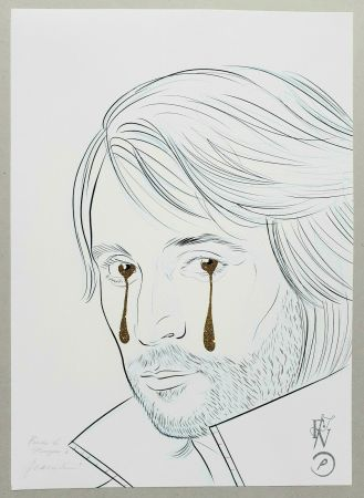 Sérigraphie Vezzoli  - TAKE my TEARS