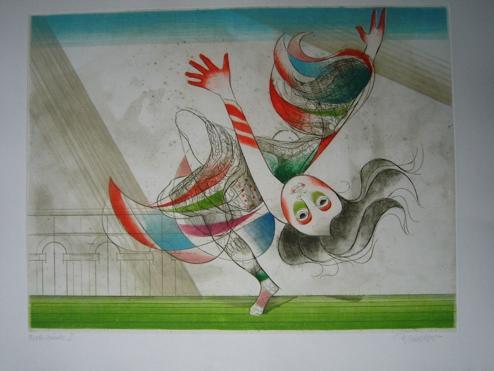 Eau-Forte Et Aquatinte Finsterer - Tanz der Salome