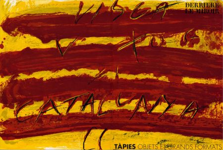 Livre Illustré Tàpies - TAPIES : Objets et grands formats. DERRIÈRE LE MIROIR N° 200. 1972.