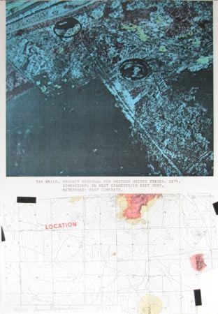 Sérigraphie Oppenheim - Tar Wells