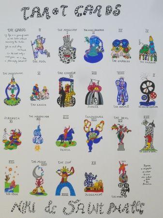 Sérigraphie De Saint Phalle - TAROTS CARDS