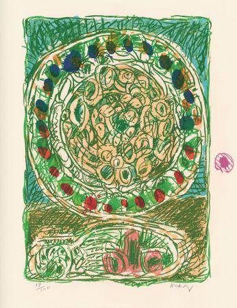 Lithographie Alechinsky - Tarte al'jotte