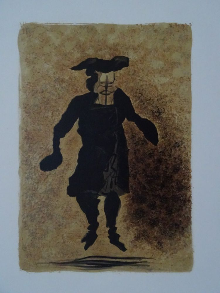 Lithographie Braque - Tartuffe