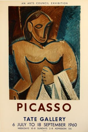 Lithographie Picasso - Tate Gallery